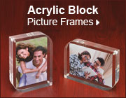 Acrylic Block - Picture Frames