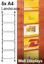 A4 Wall Mounted Poster Kit
