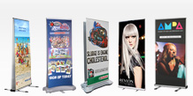 Double Sided Pull Up Banner