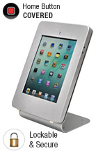 Silver Mount for iPad: Counter - Top