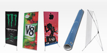 L-Banner & X-Banner Stands
