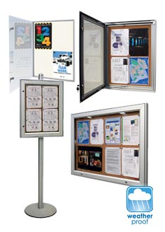 mobile display boards