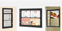 Menu Display Cabinets