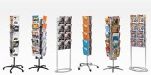 Metal Brochure Racks
