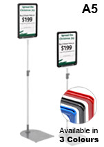 Showcard Stand - Adjustable Height