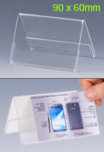 V Shaped Acrylic Frame