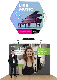 Exhibition Displays Australia Pty Ltd : Portable exhibition displays for trade shows events