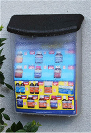 Outdoor A4 Brochure Holder