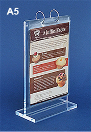 A5 Acrylic Price Tag Display Stand Plastic Menu Stand Frame Picture Holder Advertising Menu Poster Display Rack Desk Sign Holder Price Remains Stable Desk Accessories & Organizer