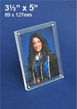 Acrylic Magnetic Photo Frames