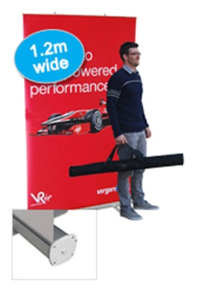 Budget Extra Wide Pull Up Banner