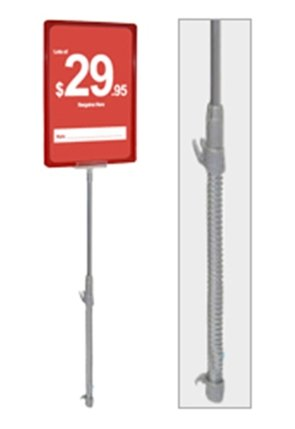 Spring Loaded POS Sign Holder