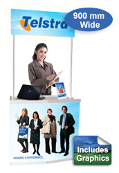 Portable Promotional Counter
