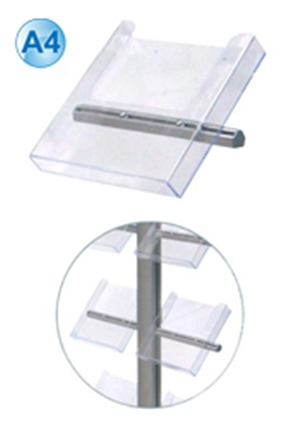 A4 or DL Acrylic Brochure Holder