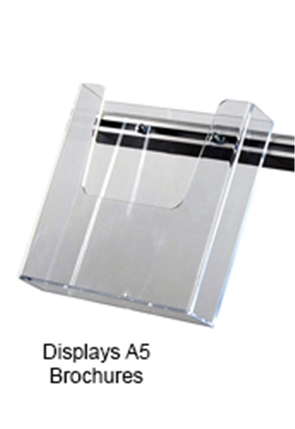 A5 Acrylic Brochure Holder & Arm