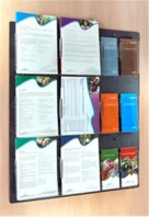 Slimline Wall Brochure Holder