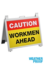 Workmen Ahead Signs