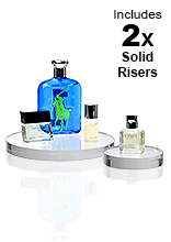 Solid Acrylic Risers