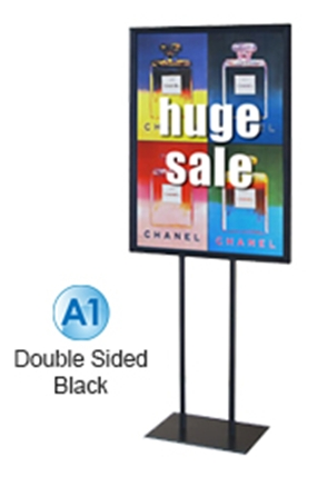 Budget A1 Poster Stand ? 1550mm Black