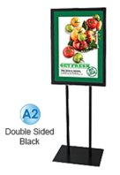 Budget A2 Poster Stand ? 1300mm Black