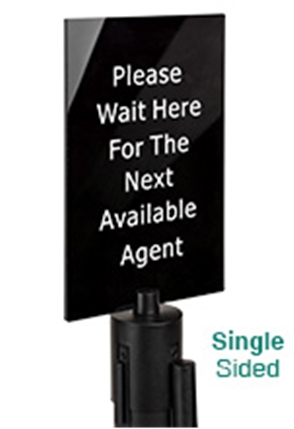 Stanchion Sign Frames