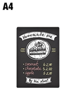 Small Double Sided Chalkboard - A4