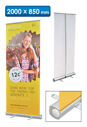 Budget Pull Up Banner