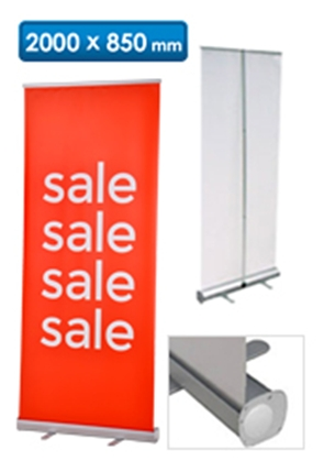SALE Roll Up Banner