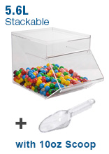 5.6L Candy Bin with Scoop
