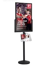 Double Sided Sign Stand