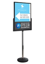 A1 Double Sided Sign Holders