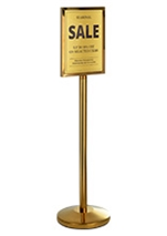 A3 Pedestal Sign Holder Floor Stand