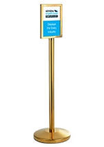 A4 Stand Alone Sign Holder