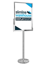 A1 Freestanding Sign Holder