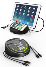 4 Port USB Charging Station