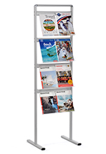 Free Standing Brochure or Magazine Rack