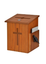 Wooden Church Donation Box