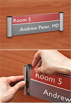 Door Sign Holders
