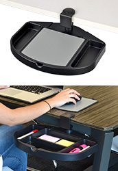 Under Desk Mouse Tray