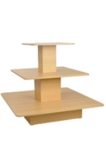 Tiered Retail Display Tables