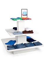 Retail Clothing Display Tables