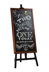 Chalkboard Easel Stand