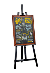 Chalkboard and Stand