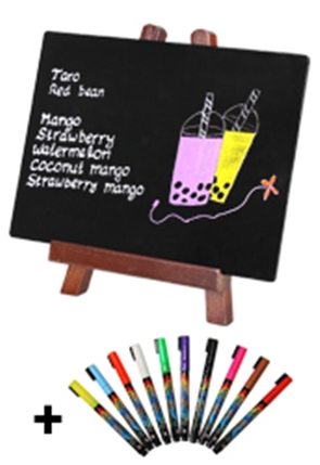 Blackboard and Easel