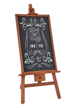 Chalkboard on Stand