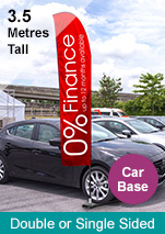 Promotional Banners Flags - 3.5m
