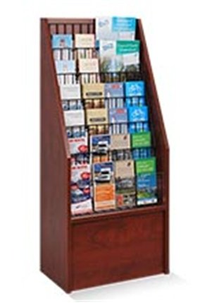 Wooden Brochure Display