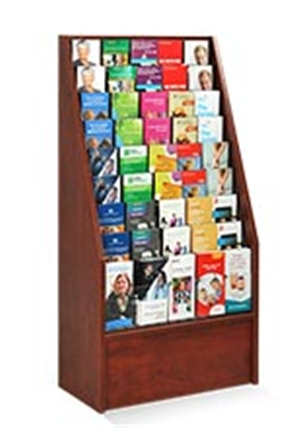 Wooden Leaflet Holder