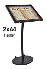Outdoor Menu Holder Box