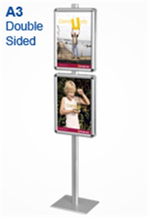 Ad Stands Display System